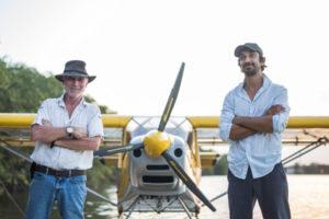Instructeurs des ailes hydro de Montsinéry