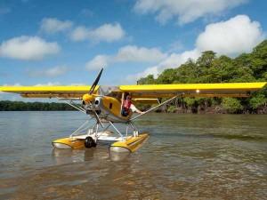 ULM Hydro - Les ailes hydro de Montsinéry